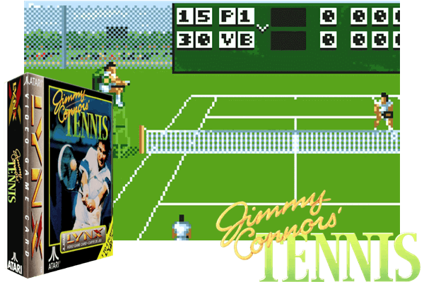 Atari Lynx - Jimmy Connors Tennis